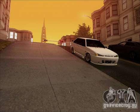 ВАЗ 2112 Tuneable для GTA San Andreas вид сзади
