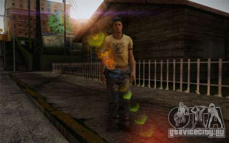 Ellis from Left 4 Dead 2 для GTA San Andreas