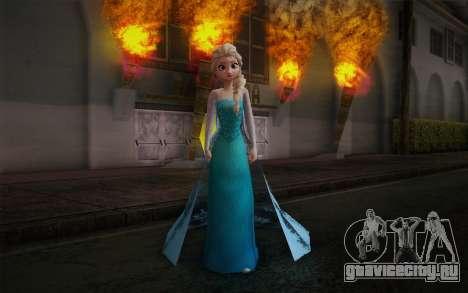 Frozen Elsa для GTA San Andreas