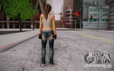 Hitomi из Dead or Alive для GTA San Andreas второй скриншот