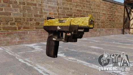 Пистолет FN Five-seveN LAM Gold для GTA 4