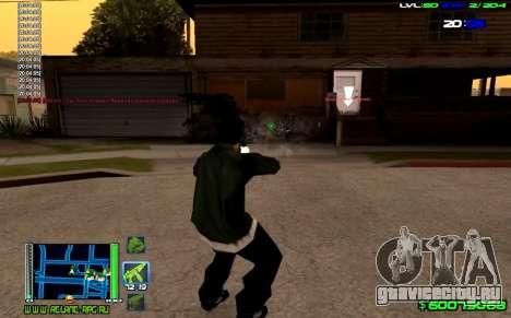 C-HUD Optimal для GTA San Andreas третий скриншот