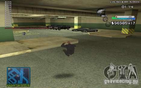 С-HUD by SteelMan для GTA San Andreas второй скриншот