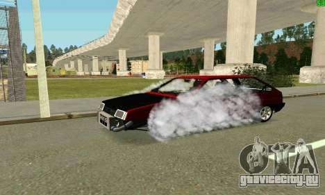 ВАЗ 2108 Turbo для GTA San Andreas двигатель