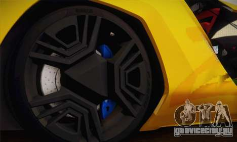 Bertone Mantide World Brasil 2010 для GTA San Andreas вид сбоку