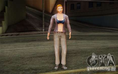 Woman Autoracer from FlatOut v2 для GTA San Andreas