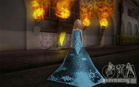 Frozen Elsa для GTA San Andreas второй скриншот