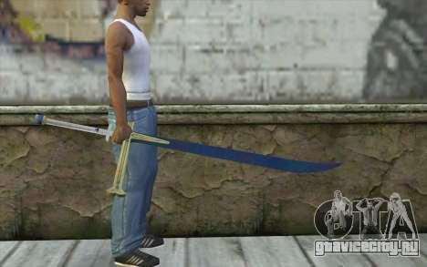 One Piece Black Sword для GTA San Andreas третий скриншот