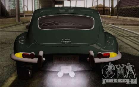 Jaguar E-Type 4.2 для GTA San Andreas колёса