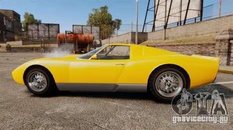 GTA V Pagassi Monroe для GTA 4 вид слева