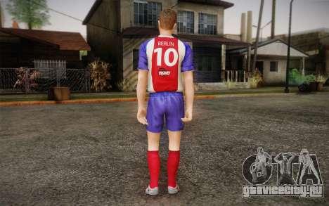 Футболист для GTA San Andreas второй скриншот