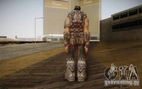 Marcus Fenix из Gears of War 3 для GTA San Andreas второй скриншот