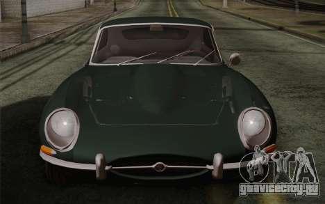 Jaguar E-Type 4.2 для GTA San Andreas салон