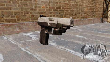 Пистолет FN Five-seveN LAM ACU Camo для GTA 4