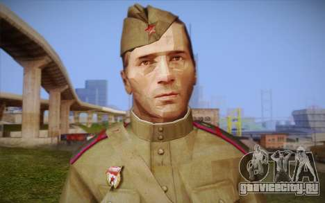 Советский солдат для GTA San Andreas третий скриншот
