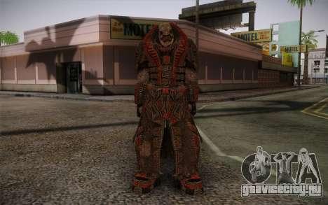 Theron Guard Cloth From Gears of War 3 v1 для GTA San Andreas
