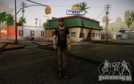 Nick из The Walking Dead для GTA San Andreas
