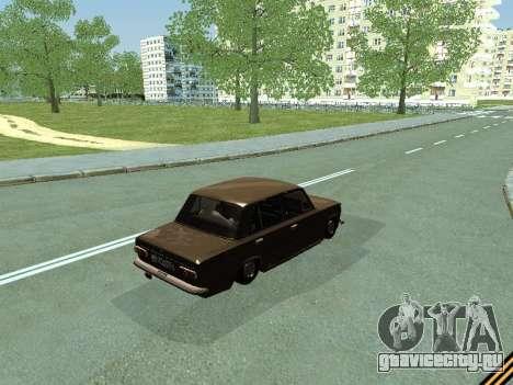Ваз 2101 для GTA San Andreas вид сзади слева