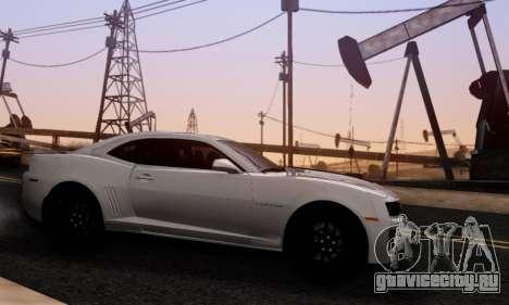 Chevrolet Camaro ZL1 2014 для GTA San Andreas вид слева