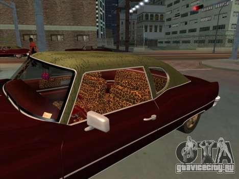 Yardie Lobo from GTA 3 для GTA San Andreas вид справа