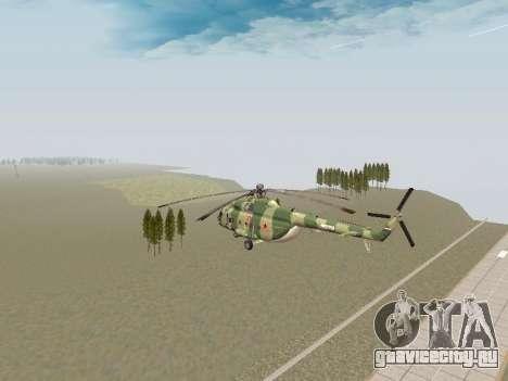 Ми-8Т для GTA San Andreas вид справа