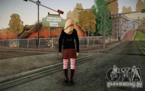 Avril Lavigne для GTA San Andreas второй скриншот