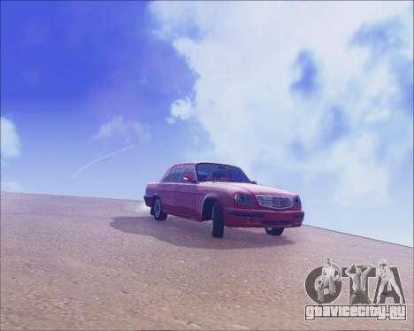 ГАЗ 31105 Tuneable для GTA San Andreas