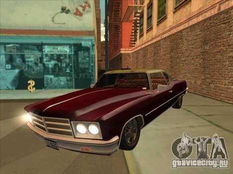 Yardie Lobo from GTA 3 для GTA San Andreas
