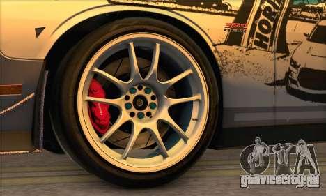 Dodge Challenger SRT8 2012 для GTA San Andreas вид справа