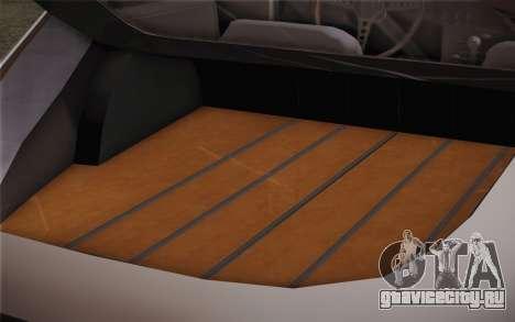 Jaguar E-Type 4.2 для GTA San Andreas вид изнутри