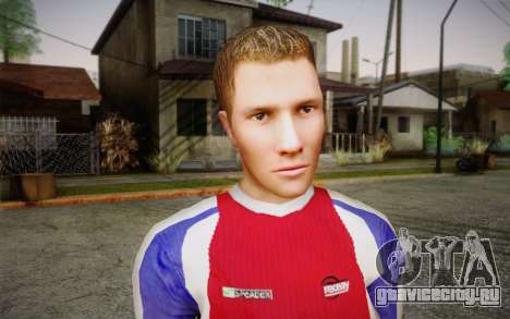 Футболист для GTA San Andreas третий скриншот