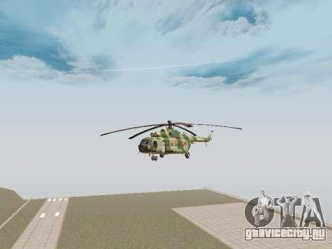 Ми-8Т для GTA San Andreas вид сзади слева