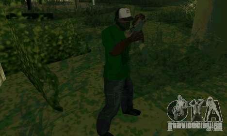 Новые характеристики оружия для GTA San Andreas пятый скриншот