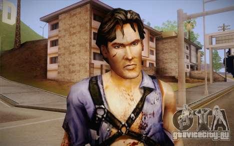 Ash Williams из Evil Dead Regeneration для GTA San Andreas третий скриншот