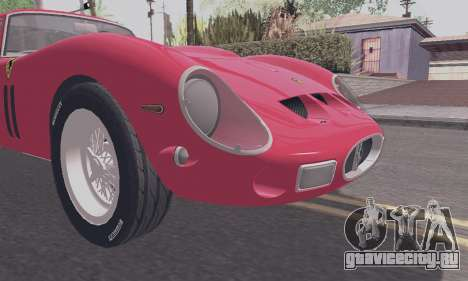 Ferrari 250 GTO 1962 для GTA San Andreas вид справа