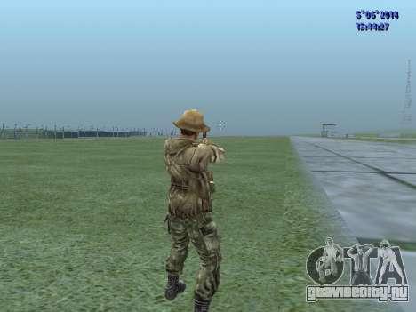 Боец ВДВ СССР для GTA San Andreas четвёртый скриншот