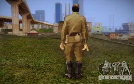 Советский солдат для GTA San Andreas второй скриншот