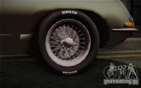 Jaguar E-Type 4.2 для GTA San Andreas вид сзади слева