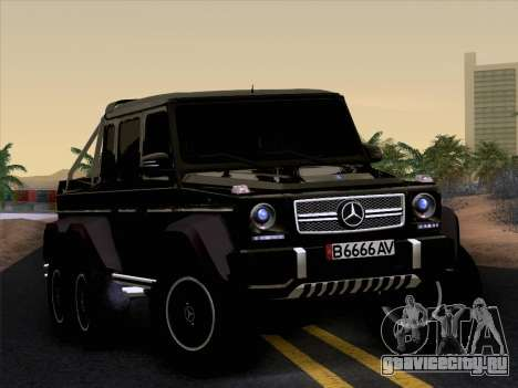 Mercedes-Benz G65 AMG 6X6 для GTA San Andreas