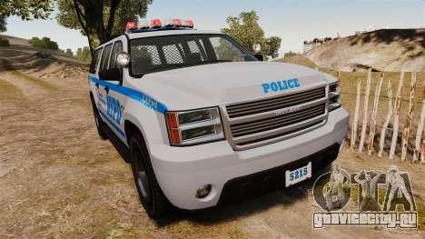 GTA V Declasse Granger NYPD для GTA 4