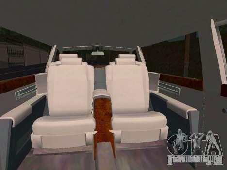 Rolls-Royce Phantom Limo для GTA San Andreas вид сбоку