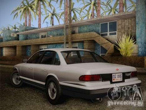 Stanier from GTA 5 для GTA San Andreas вид слева