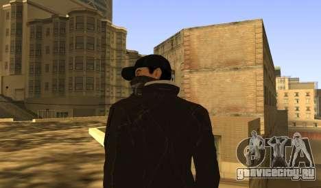 New Aiden Pearce для GTA San Andreas шестой скриншот