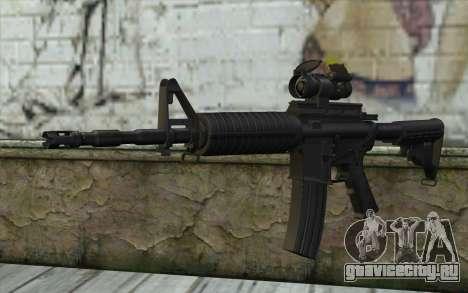 Ricks M4A1 from The Walking Dead S3 для GTA San Andreas