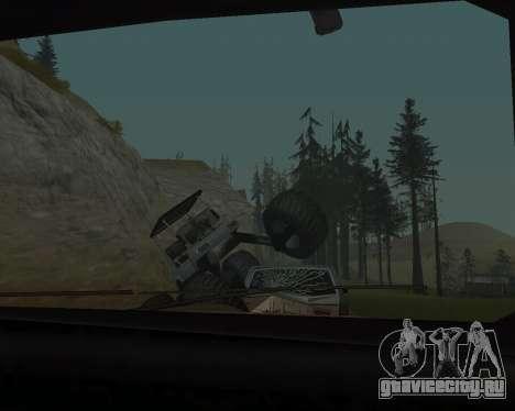 Caddy Monster Truck для GTA San Andreas вид сзади