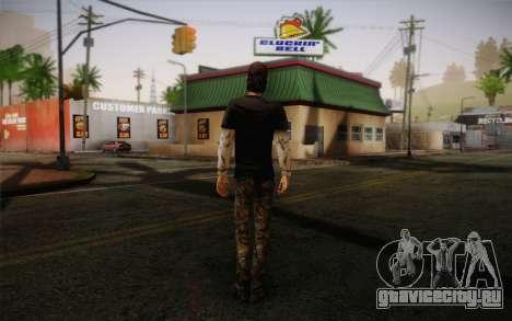 Nick из The Walking Dead для GTA San Andreas второй скриншот