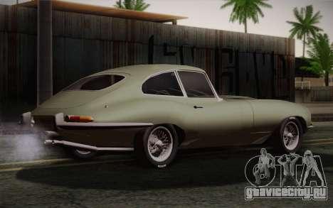 Jaguar E-Type 4.2 для GTA San Andreas вид слева