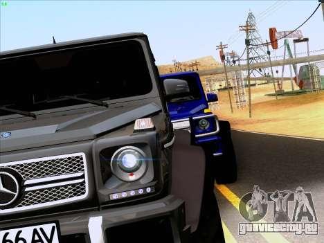 Mercedes-Benz G65 AMG 6X6 для GTA San Andreas вид сзади