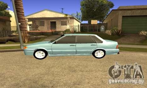 ВАЗ 2115 для GTA San Andreas вид сзади слева