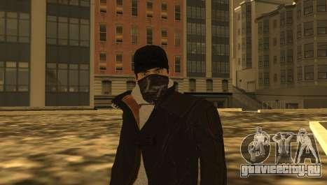 New Aiden Pearce для GTA San Andreas пятый скриншот